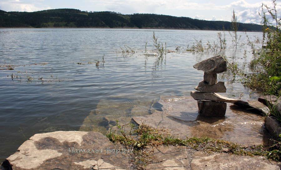 вода сильно поднялась