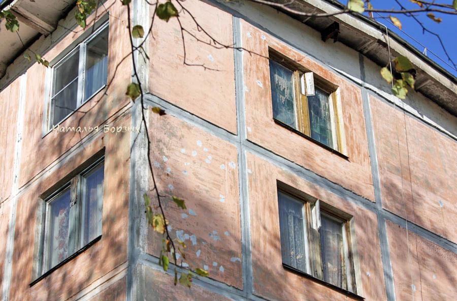 форточки в старых деревянных окнах