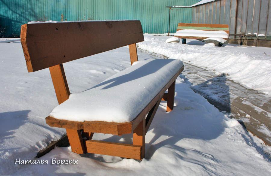 тюфяк из снега