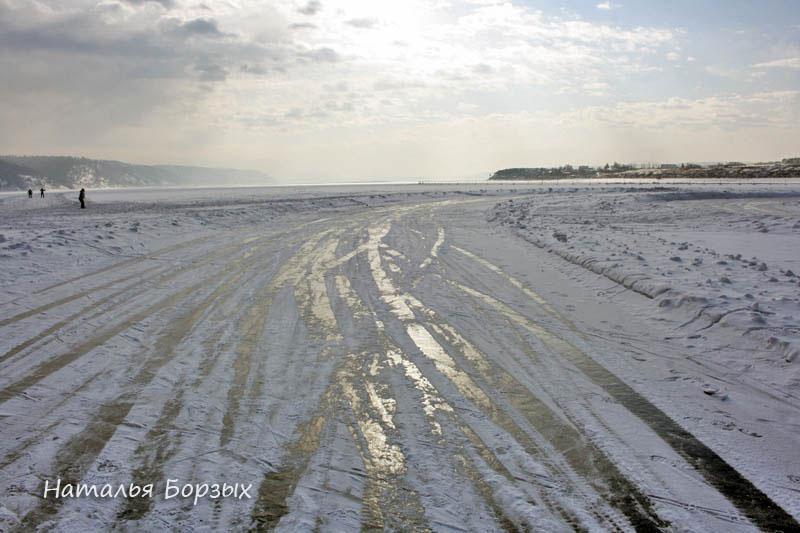 лёд Ангары