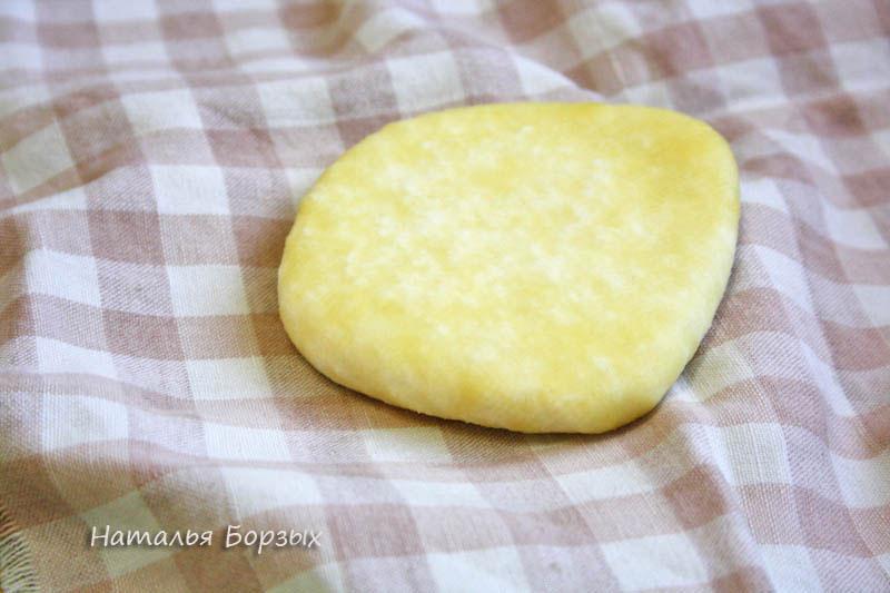 сыр свежий, пока без вкуса