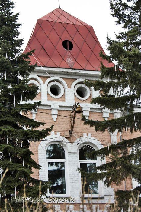 центральная башня мэрии