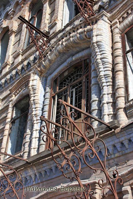 кованые опоры для балконов