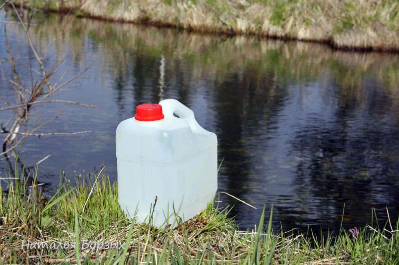 река Малый Хабайдак с питьевой водой