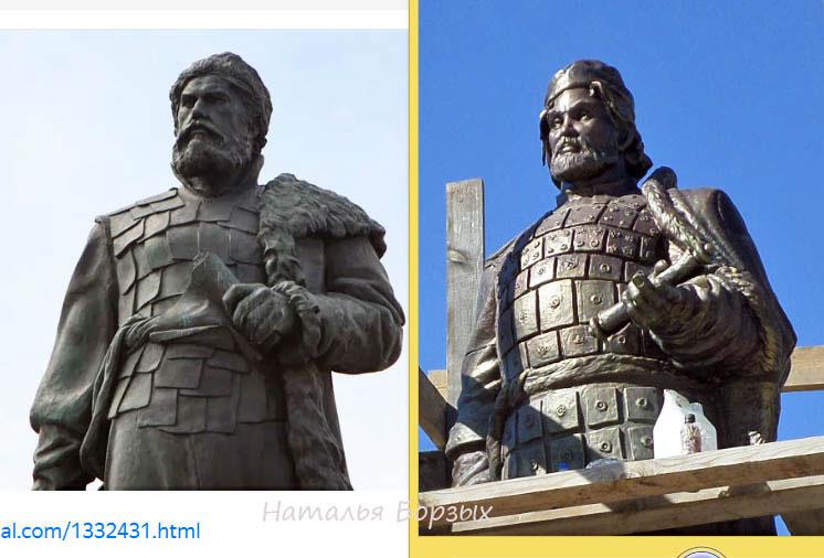 слева - Хабаров в Хабаровске, справа - Черниговский в Свирске