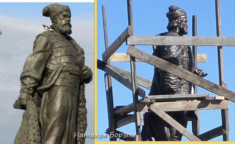 Хабаров и Черниговский в профиль