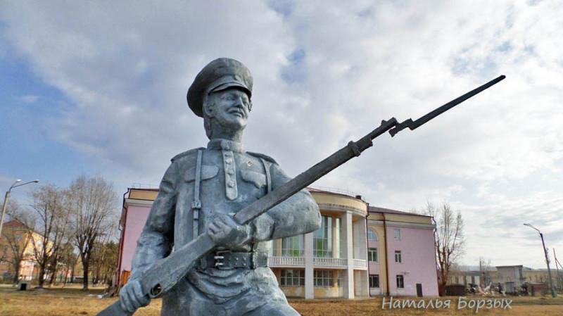 солдат Сидор Яковлевич Борзых