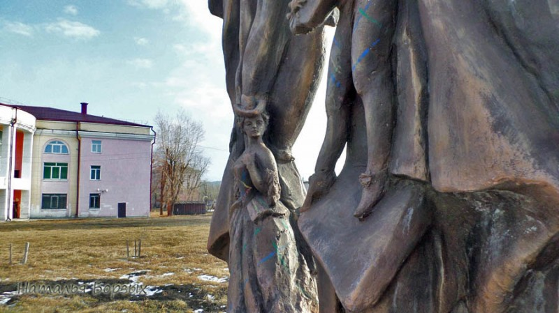 фрагмент скульптуры