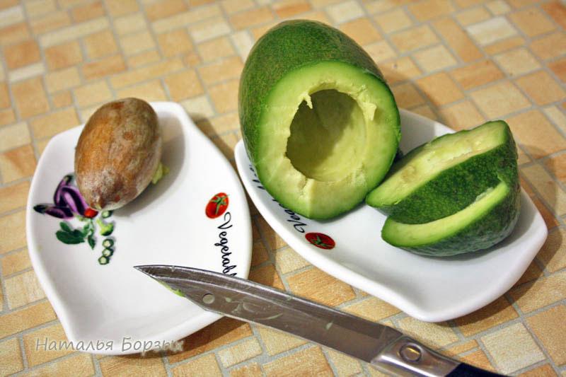 ломтик авокадо на завтрак