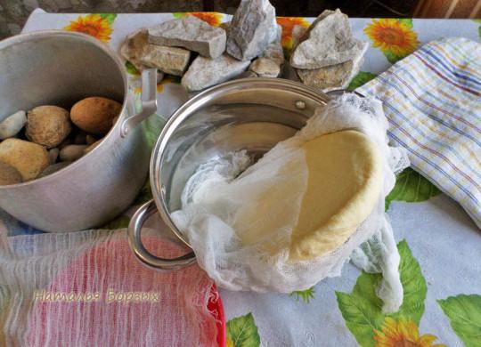 через сутки лепёшка сыра сухая
