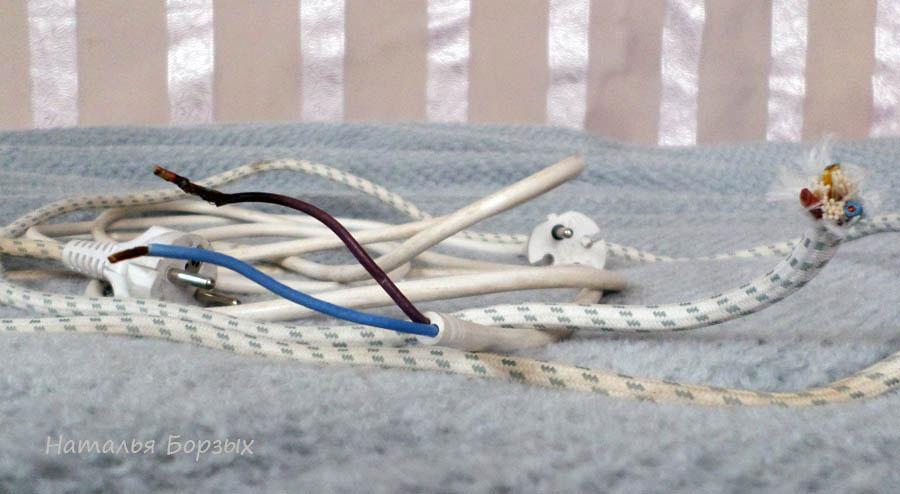 рошие провода с вилкамихо