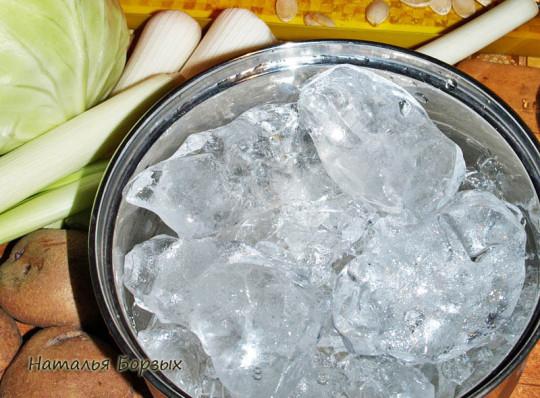 лёд пищевой