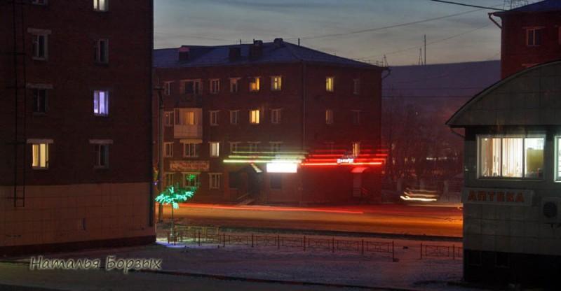 ночной Свирск