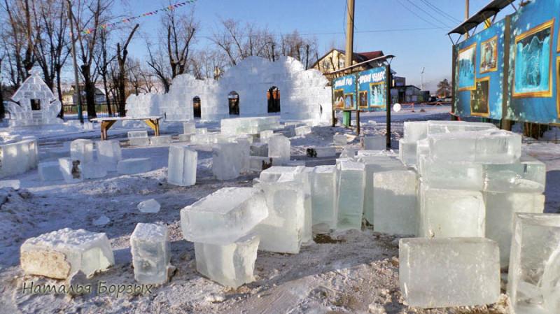 да у нас такого льда - хоть завались!