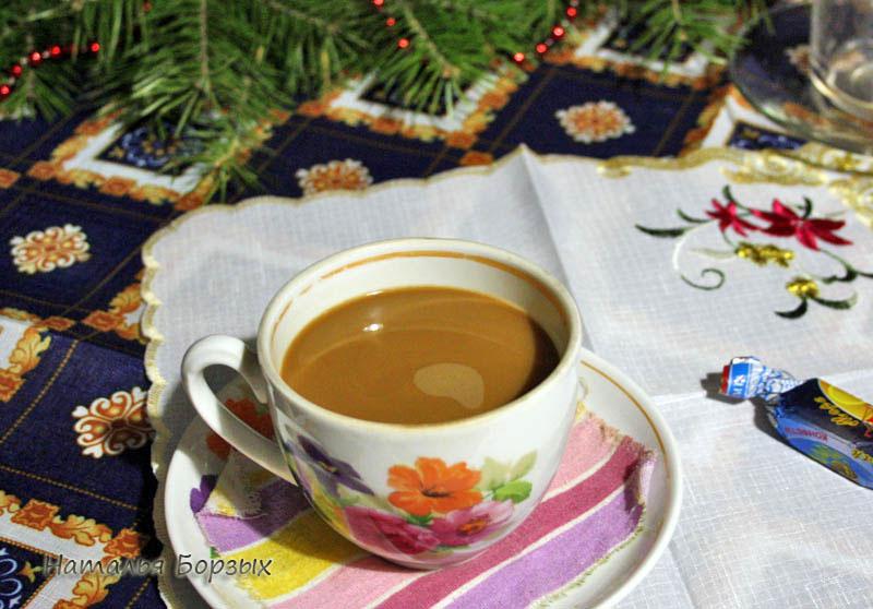 чашка кофе в последнее утро 2020 года