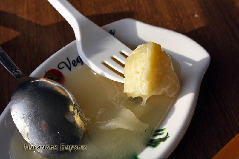 новинка для меня - сыр с мёдом