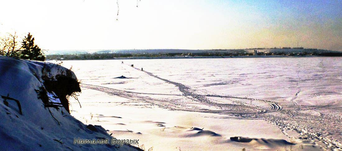 тропа через Ангару