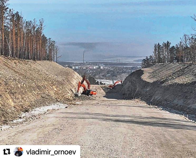 дорога в Свирск