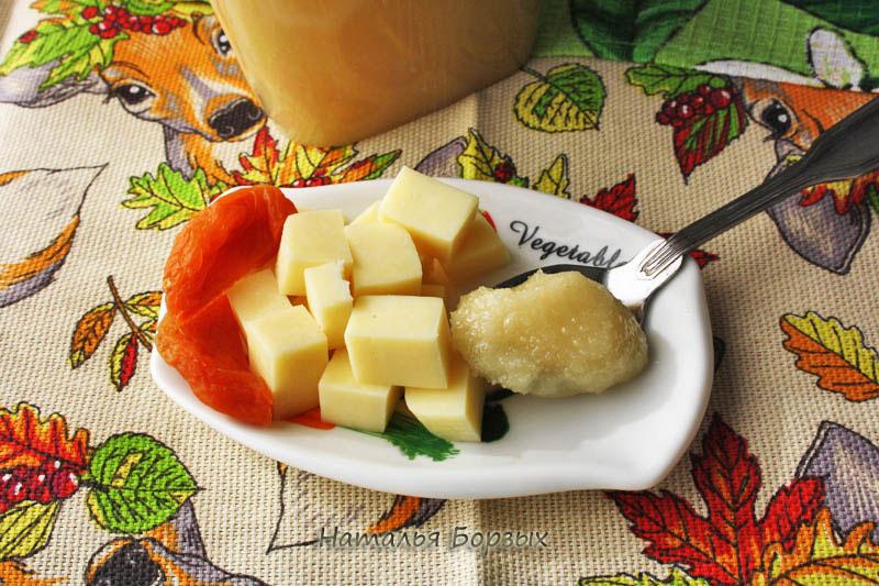 дегустация мёда с сыром