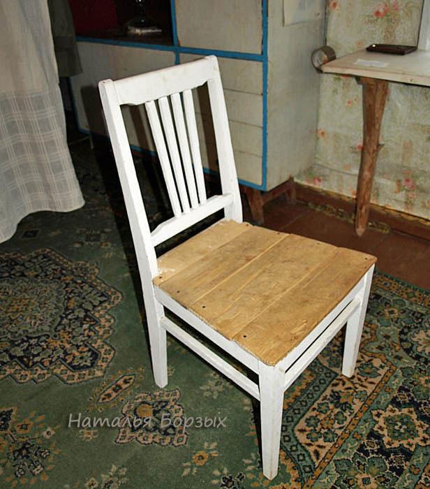 мой медниковский стул в 2008 году