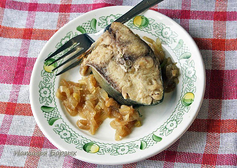 неделя рыбная — съела первого омуля