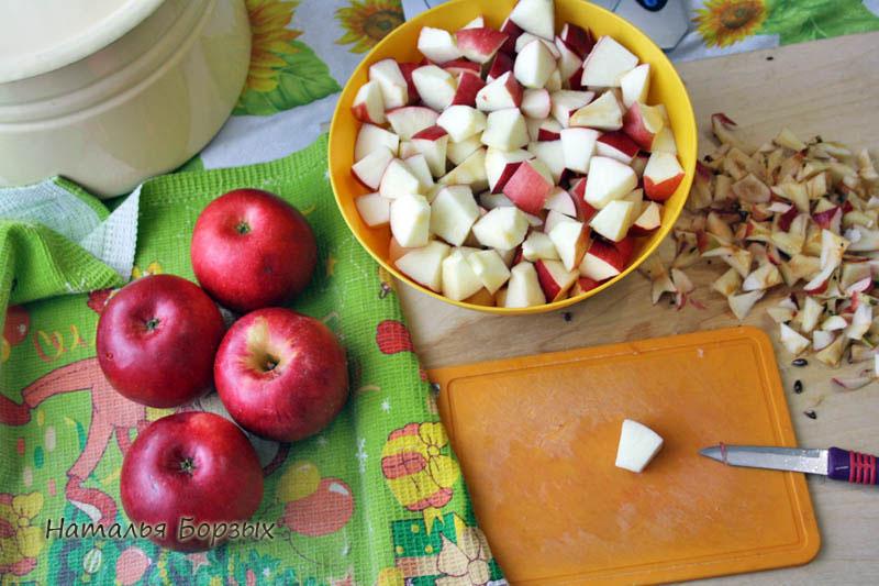 для джема эти яблоки хороши