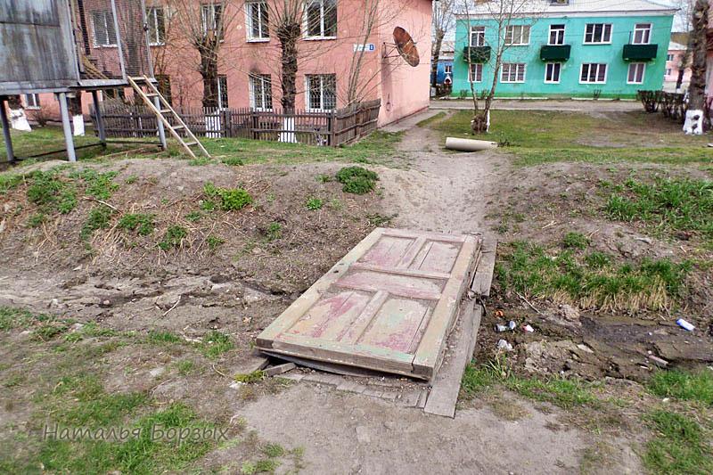 двухэтажный квартал на улице Олега Кошевого