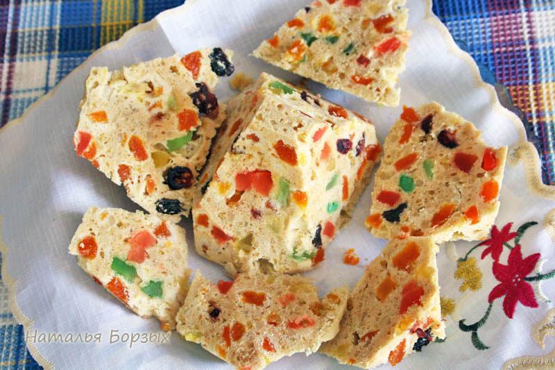 на завтрак — пирамидка сладкого пирога