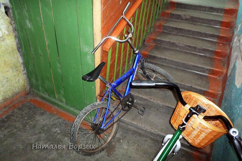 чужой велосипед