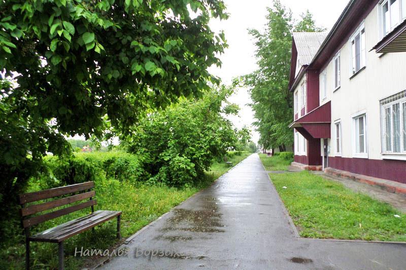 бульвар в старом квартале