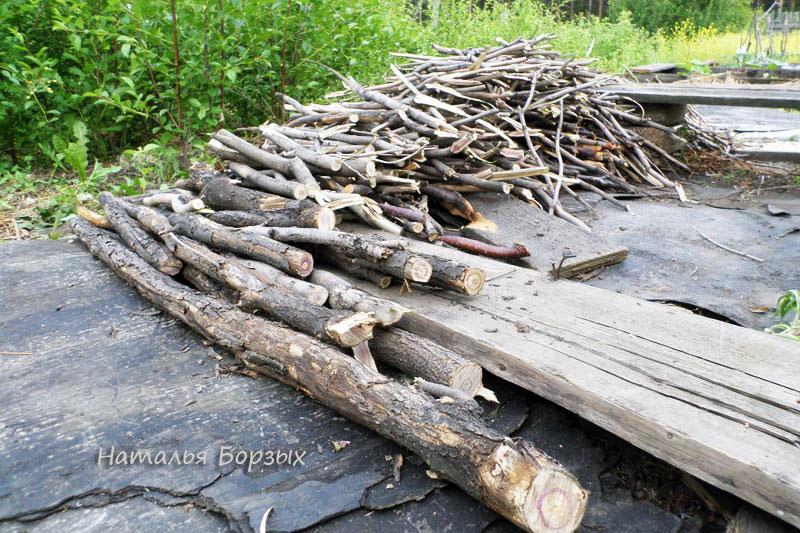 сиреневые дрова
