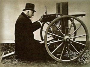 Hiram Stevens Maxim 1884