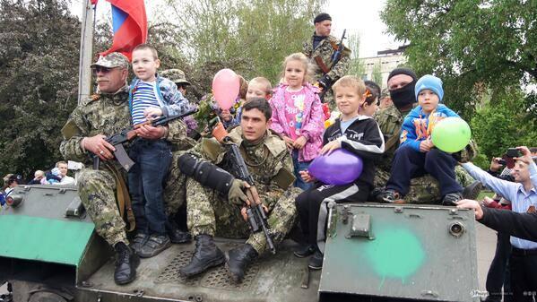 День Победы в осажденной брестской крепости Донбасса