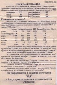 Укролистовка 1991 г. накануне референдума