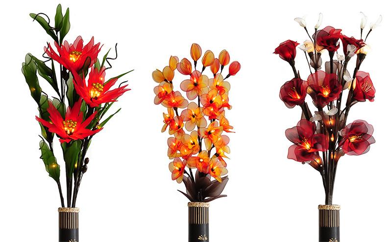 цветы-светильники