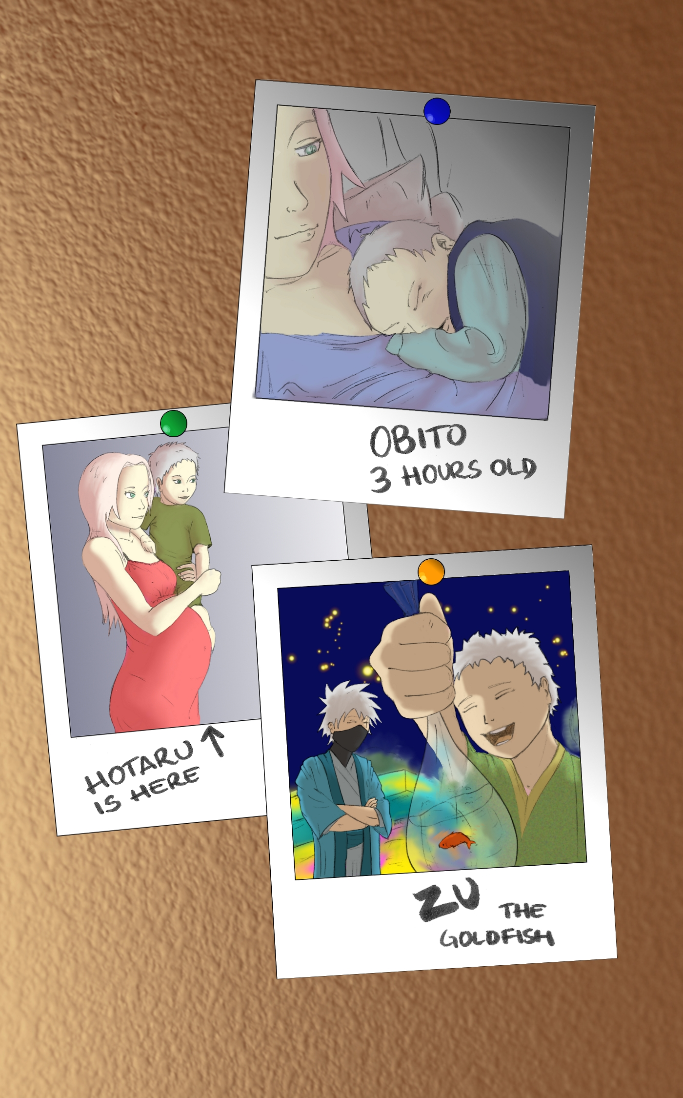Kakasaku- I don't ship kakasaku but kakashi and his little ...