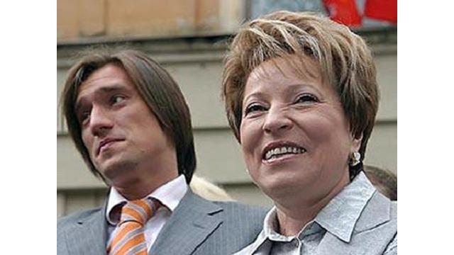 Матвиенко мать и сын