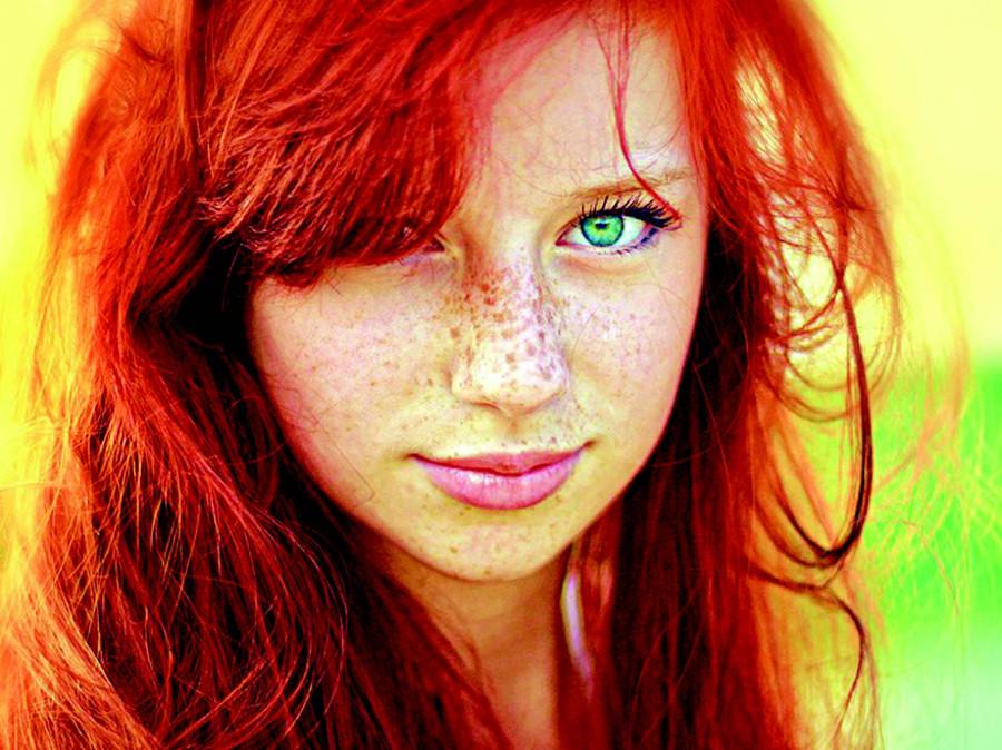 Рыжие девушки аватар