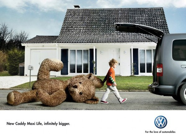 thefourp. funny advertisments. cars.new.caddy