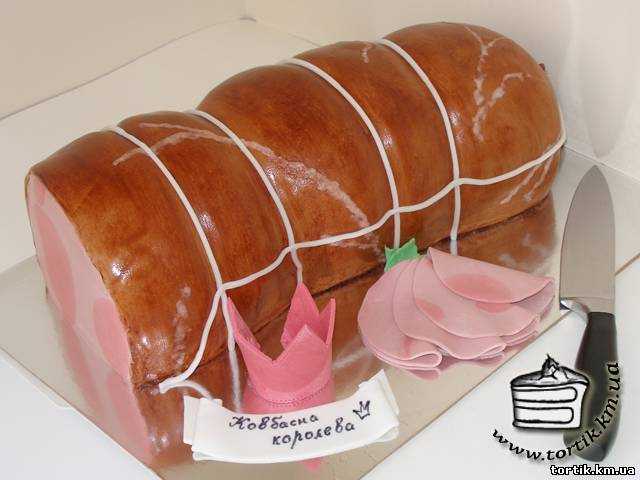 колбасный торт рецепты фото