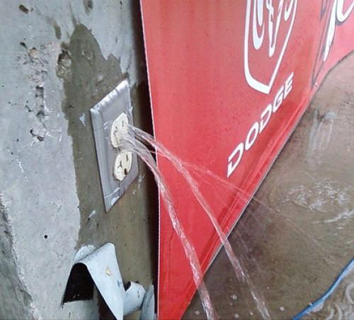 Leaking-Outlet
