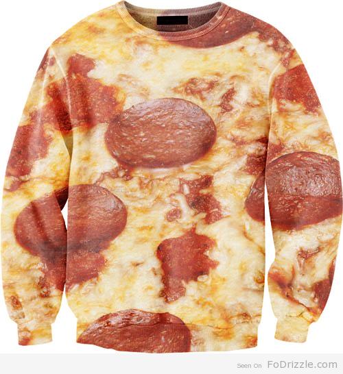 Pizza-Sweater
