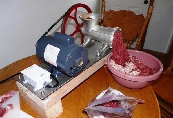 Мясорубки электрические своими руками