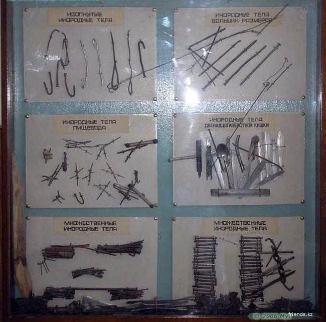 фото предметы из попки которые достают врачи