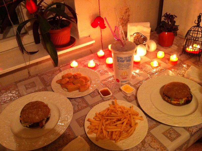 Романтический ужин для мужа в домашних условиях