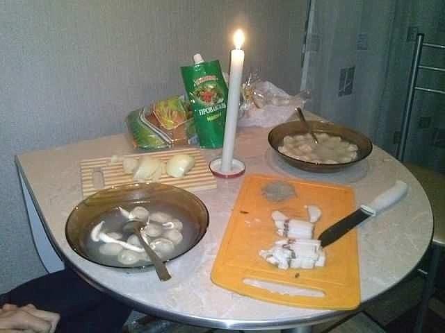 Почему жена не приготовила мужу ужин 100 к одному