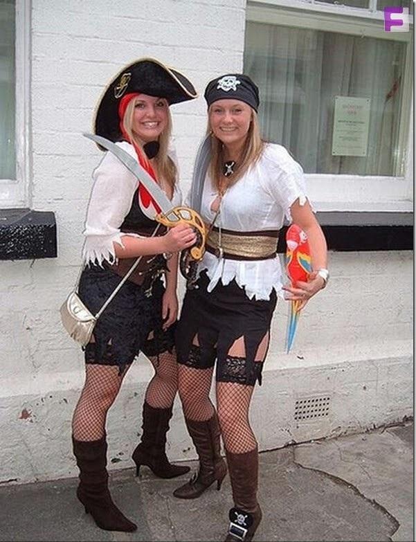 Костюм девушки пиратки своими руками фото