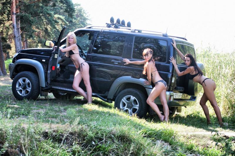 Секс машины и девочеки