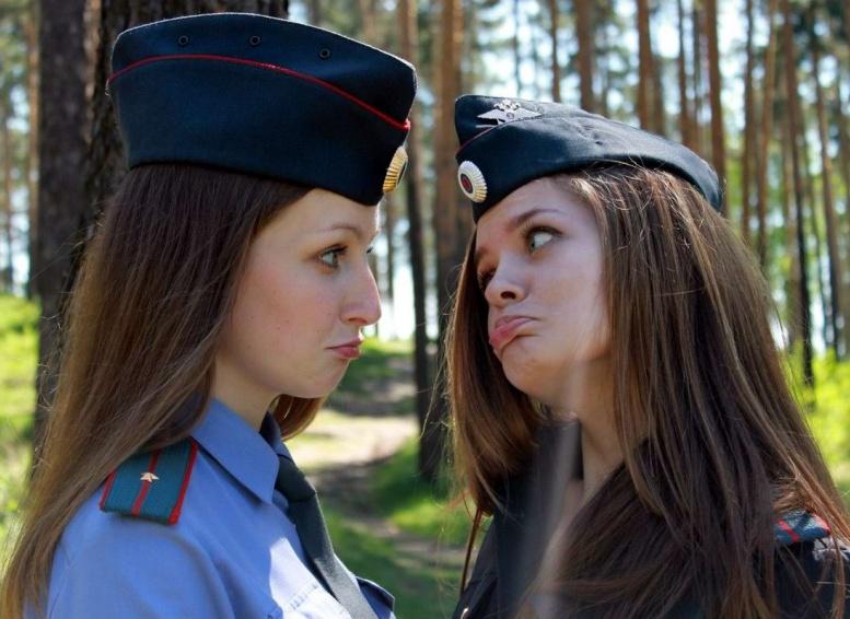 фотографии российских девушек простые