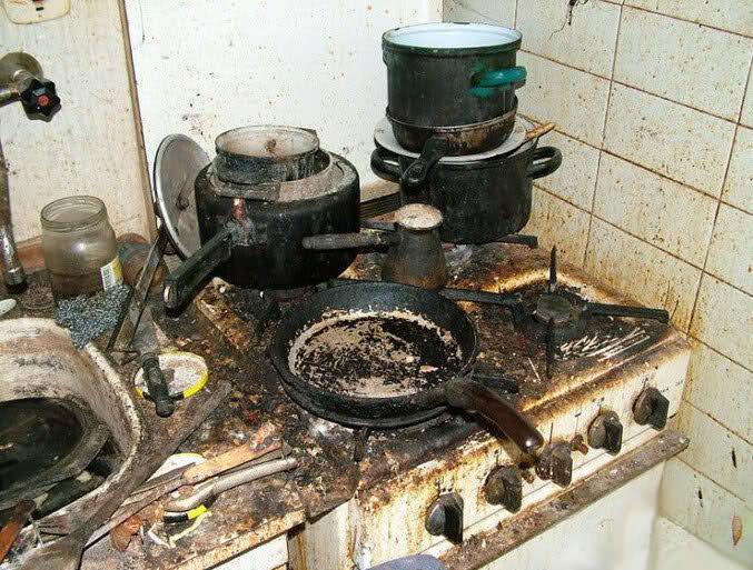 Cucina sporca